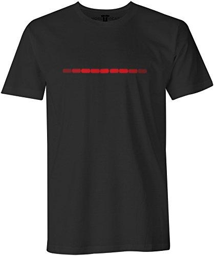 Kitt Stripe - Herren Knight Rider 1980's Action Abenteuer Serie T Shirt
