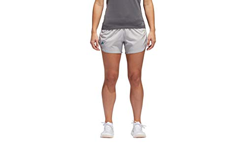 adidas M10 - Pantalón Corto de Running para Mujer - S18081345, Running M10 - Pantalones Cortos para Mujer, Medium/3', Gris (Grey Two)