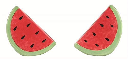 Salz- und Pfefferstreuer aus Keramik, Wassermelonen-Design, 2-8,89 cm