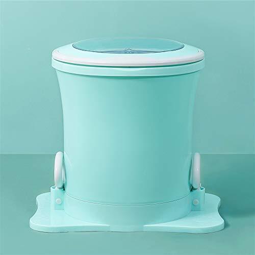 SEAAN Asciugatrice centrifuga, mini asciugatrice manuale portatile, asciugatrice centrifuga ad alta velocità, asciugatrice centrifuga per appartamenti/casa/campeggio (verde)