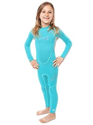 O'Neill Reactor Toddler Full Wetsuit 4 Light Aqua/Cool Grey (4629G)