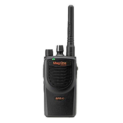 BPR40 Mag One by Motorola VHF(150-174 MHz) 8 Channel 5 Watts Model Number AAH84KDS8AA1AN - Requires Programming