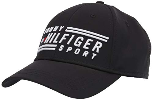 Boné de beisebol masculino esportivo Dobber da Tommy Hilfiger, The Deep Black, One Size