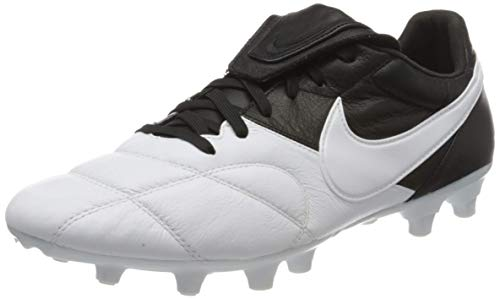 Nike Unisex The Premier Ii Fg Fußballschuhe, Weiß (White/White/Black 110), 44.5 EU