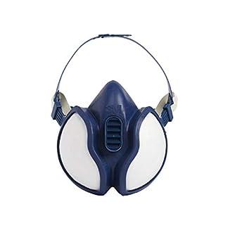 3M GT500087553 Media Máscara, Certificado de seguridad EN