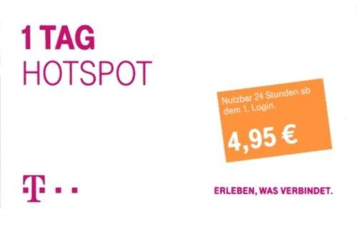 Telekom - Hotspot Pass - 1 Tag (Tagespass)