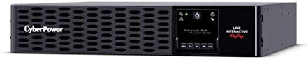 CyberPower Smart App Sinewave UPS System 3000VA 3000W 9 Outlets 2U Rack Tower RMCARD205 Pre product image