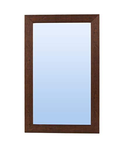 Espejo de Pared con Marco de Madera (Varios tamaños y Colores) Serie 2557-4 (200 x 100 cm)