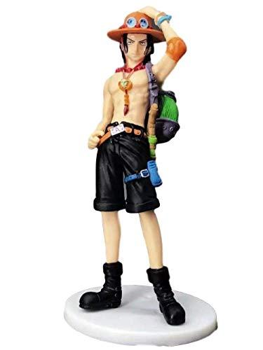 Alto: 14cm One Piece ACE Mochila Boxed Sculpture Regalo Modelo Ilustraciones Anime