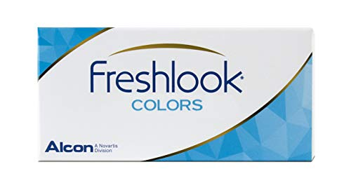 Alcon FreshLook Colors, Lentes de Contacto Color, Amarillo (Miel)