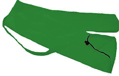 scacca mare per ombrellone tracolla in vari colori resistente e lavaile (verde scuro)