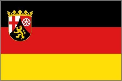 Import Allemagne, Rhénanie-Palatinat drapeau 5 'x3'