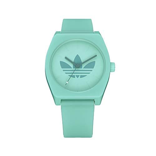 Adidas Unisex Analog Quarz Uhr mit Silikon Armband Z10-3267-00