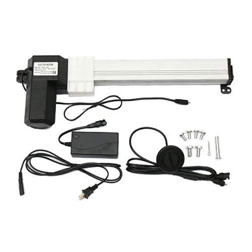 Actuador lineal DC 24 V 6000N accionamiento de motor lineal eléctrico 330 mm para muebles de coche, etc.