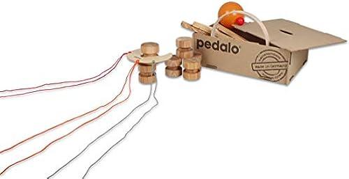pedalo Teamspiel-Box – Outdoor   Indoor Spiele, hochwertige Gruppenspiele (4-16 Schüler), 22 Teile