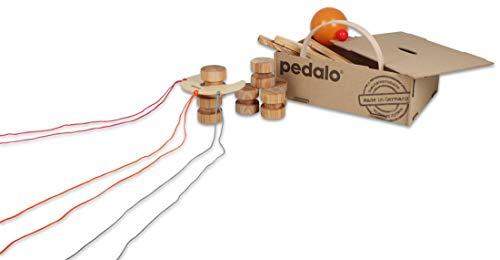 pedalo Teamspiel-Box – Outdoor / Indoor Spiele, hochwertige Gruppenspiele (4-16 Schüler), 22 Teile