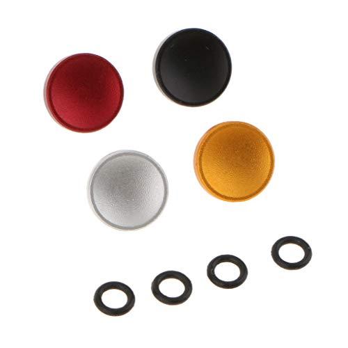 Pieza de Repuesto de Botón de Disparo de Obturador Convexo de Cámara de 4 Paquetes para Fujifilm Canon Nikon ETC - C