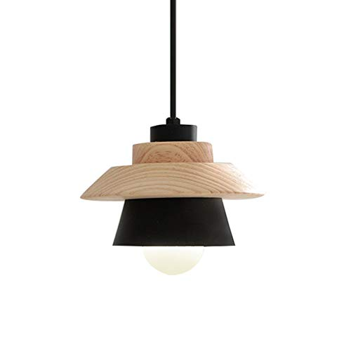 Lamp van hout, lamp van hout voor de persoonlijkheid van de vensterbank van het restaurant minimalistisch modern