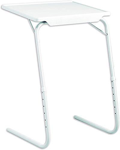 SVE - Tavolino pieghevole regolabile, adattabile a 18 posizioni diverse (6 altezze e 3 angoli diversi)