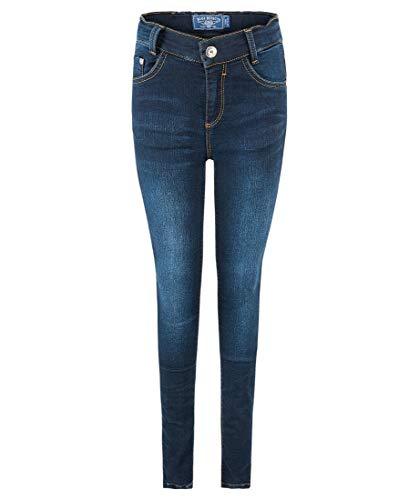 Blue Effect Mädchen Jeans Ultra Stretch Slim 1192-0127-NOS, Schwarz (Black Soft Used 9670) 176, Farbe:Darkblue Soft Used (9620), Größe:164 Big