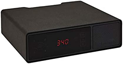 Hornady Rapid Safe Night Guard – Nightstand Gun Safe with RFID Reader, Clock, USB Ports – RFID Safe for Fast, Multiple Method Entry – Includes Rapid Safe, 3 Methods of Entry and Security Cable