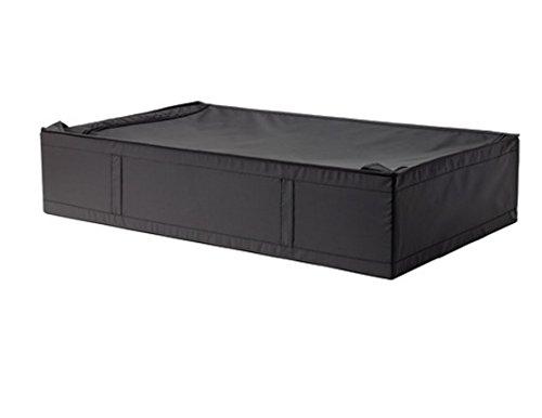 IKEA Skubb Unterbettkommode mit Reißverschluss, ca. 91,4 x 54,3 x 19,1 cm, Schwarz, 1 Stück