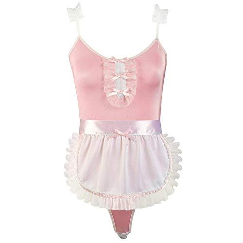 HYY-YY Zeven drie roze uniforms, meiden, schattig en speelse sexy exemplaren met schorten, gegolfde banden, rokken