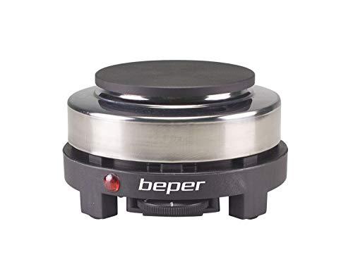 Beper P101PIA002 fornello Elettrico, 500 W, Acciao Inossidabile/Ghisa