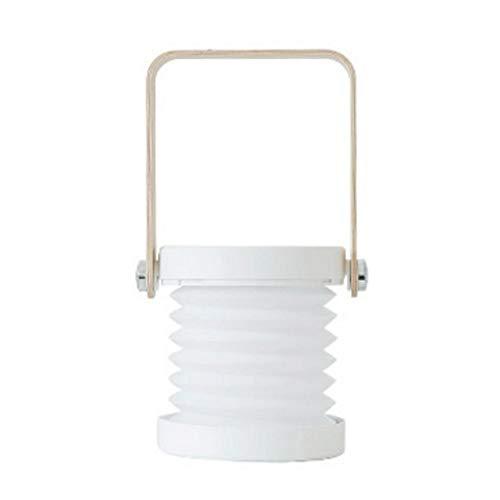 SPNEC Lámpara Plegable Creativo, decoración del hogar de la lámpara portátil, al Estilo de la Linterna Creativa luz de la Noche