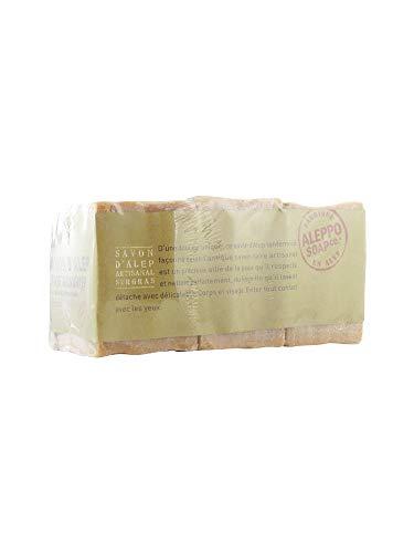 Aleppo Soap Co Zeep Olijf & Laurier, 200 G, 3 Stuk