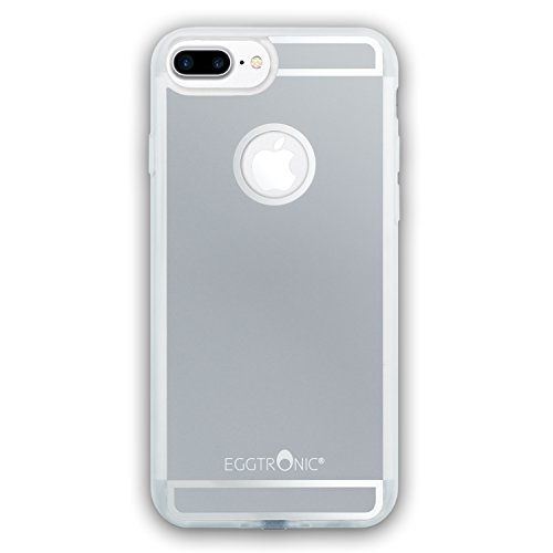 Eggtronic Qi Wireless Charging Case per iPhone 6 Plus / 6S Plus - Cover per Ricarica Wireless Qi (Space Grey - Grigio Siderale)