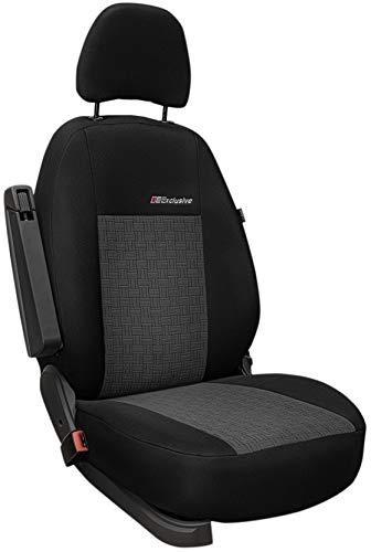 ERJOT Exclusive Autositzbezüge Sitzbezüge Universal nur Fahrersitz Schonbezüge (Akropolis)
