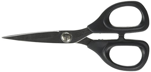 kai 5 1/2 inch Embroidery Scissors, Black Handle