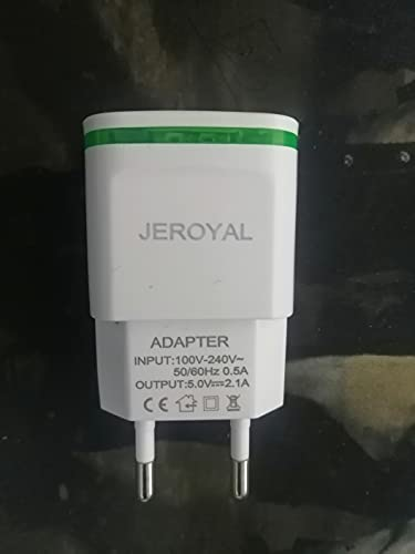 Ladron Enchufes Pared, Multiple con Doble USB y Enchufe Triple, Adaptador Enchufe Multiplicador Enchufe