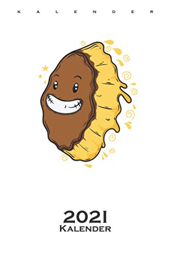 Eis Keks ist überglücklich Kalender 2021: Jahreskalender für Liebhaber der süßen Köstlichkeit