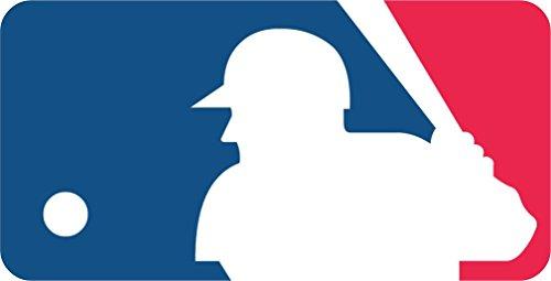skyhighprint - MLB Logo Baseball Sport Decor Vinyl Print Sticker 14'' X 7''