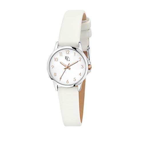 B&G Reloj Mujer, Colección Streamer, Analógico, Solo Tiempo, en Aleación, Cuero - R3851285501