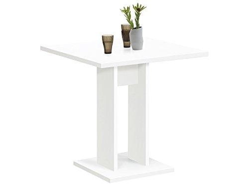 möbelando Esszimmertisch Küchentisch Esstisch Holztisch Speisetisch Tisch Yvette I Weiß