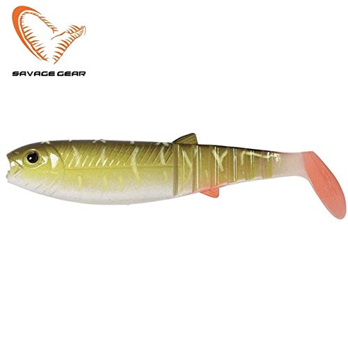 Savage Gear Cannibal Shad 10cm/9g Pike - Sonderfarbe