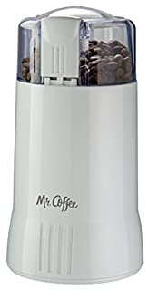 Mr. Coffee Electric Blade Coffee Bean Grinder, White, 1 Speed - IDS55-RB (B00005OTXN) | Amazon price tracker / tracking, Amazon price history charts, Amazon price watches, Amazon price drop alerts