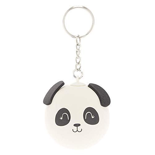 Claire's Panda Stress Ball Keychain for Girls, White, 2 Inch...
