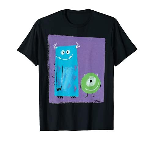 Disney Pixar Monsters Inc Sulley Mike Nierva Graphic T-Shirt