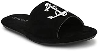 Big Fox Mens Anchor Sliders/Flip Flops/Slippers for Daily Casual Wear