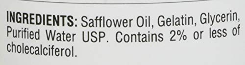Solimo Vitamin D3 2,000 IU-365 Softgels