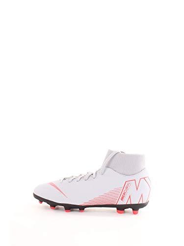 Nike Superfly 6 Club FG/MG, Zapatillas de Fútbol Unisex Adulto, Gris (Wolf Grey/Lt Crimson/Black 060), 43 EU