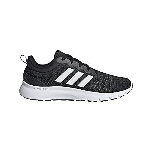 adidas FLUIDUP, Zapatillas de Running Hombre, NEGBÁS/FTWBLA/Carbon, 46 EU