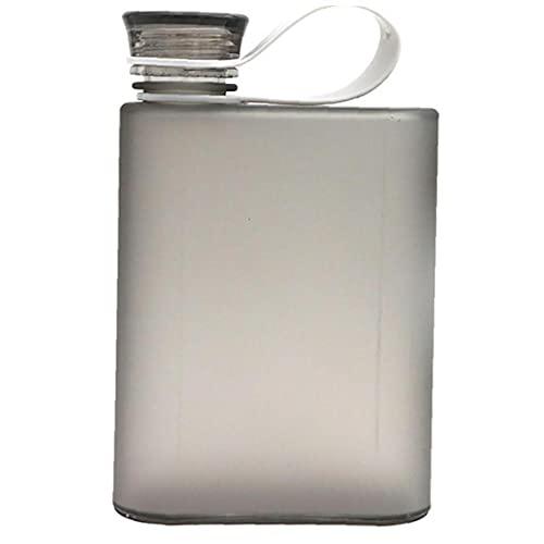 Onsinic 380ml Plástico Plástico Botella De Agua Nuevo A5 Anillo Deportes Aire Libre Botellas Portátil Portátil Cuaderno Botella De Vino para Hombre