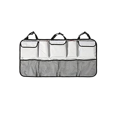 Bolsa De Almacenamiento Grande Del Organizador Del Asiento Trasero Del Coche, Múltiples Bolsas De Almacenamiento De La Conservación De Calor De Múltiples Bolsillos Para Ahorrar Espacio Para La Mayoría