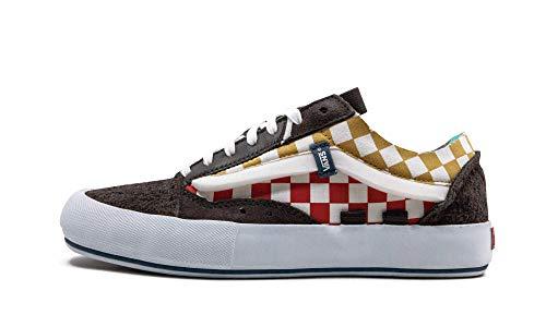 Vans Zapatillas originales Old Skool Lx Low-Top para hombre y mujer, con 8 agujeros, para la ciudad, tiempo libre, multicolor, multicolor, 41 EU
