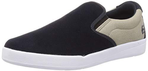 Etnies Men's Slip on Skate Shoe, Navy/Tan,9.5 M US